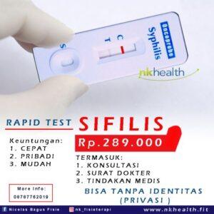 Pemeriksaan Syphilis Cepat dengan OneStep
