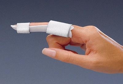 Description: Rolyan Finger Gutter Splint | Thumb and Finger Supports